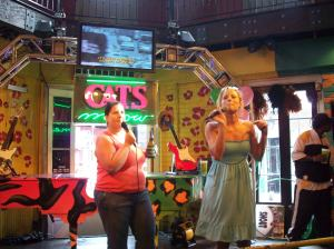karaoke at the Cat's Meow