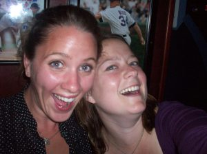 Kelly and I-- self-portrait!