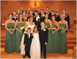 the entire bridal party!